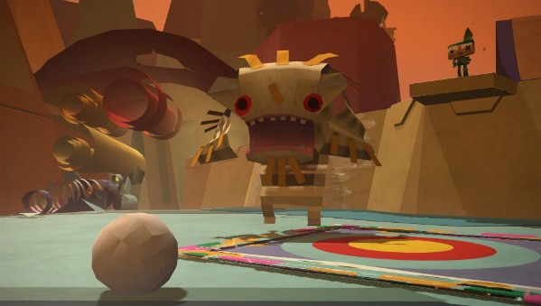 Media Molecule's Tearaway is an adorable arts and crafts adventure