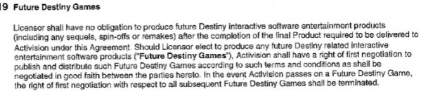 Examining the 'Destiny' contract between Bungie and Activision