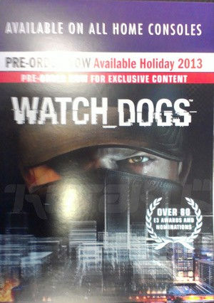 Rumor Watch Dogs on 'all home consoles' this holiday
