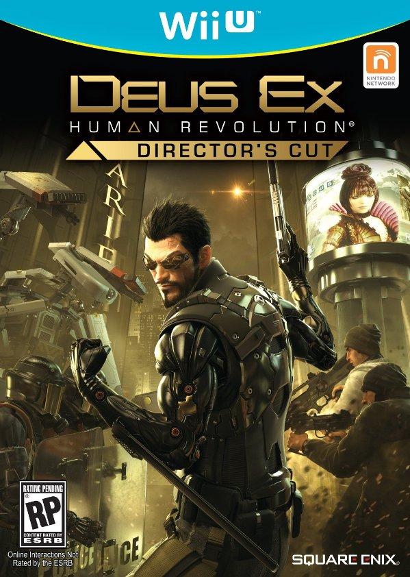 Deus Ex Human Revolution Director's Cut listed for Wii U by Amazon update