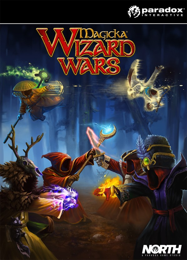 Magicka Wizard Wars is a MOBA from Paradox North