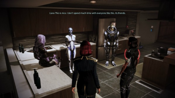 hook up with tali mass effect 2 Liara's definition of staying together (romance spoilers unusual to see them hook up if you don't think mass effect is fucking awesome in.
