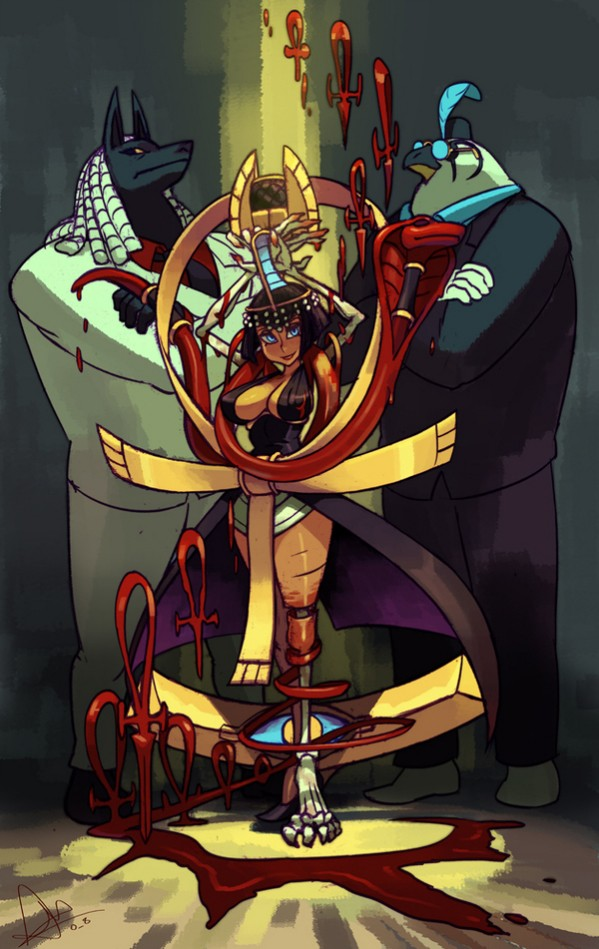 Third Skullgirls DLC character is Eliza