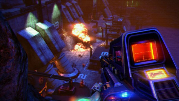 Far Cry 3 Blood Dragon welcomes you to the retro party
