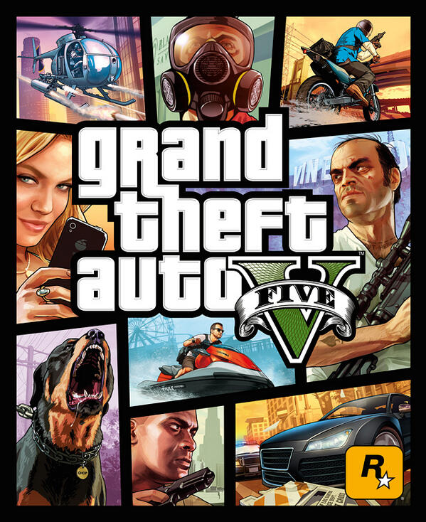 Grand Theft Auto 5 sticks with triedandtrue box art
