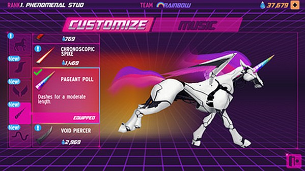 Portabliss Robot Unicorn Attack 2 iOS