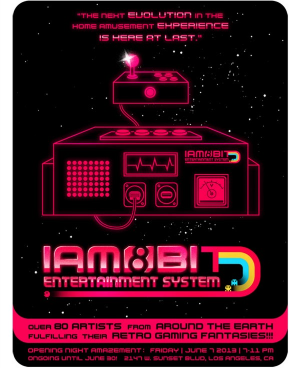 Iam8bit 'Entertainment System' features art inspired by 1980s games