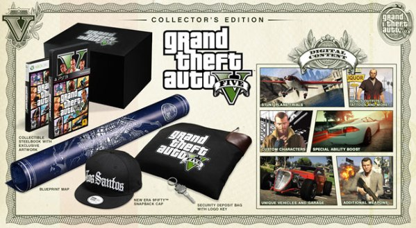 Grand Theft Auto 5 collector's editions detailed, priced