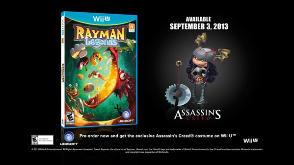 Rayman Legends visits 'Ocean World,' UK preorder goodies revealed update NA too