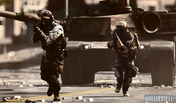 Battlefield 4 and the invisible helicopter