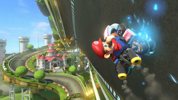 Mario Kart 8 drives us up a wall