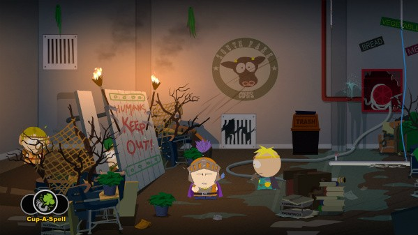 Saving the land one blast at a time in South Park The Stick of Truth