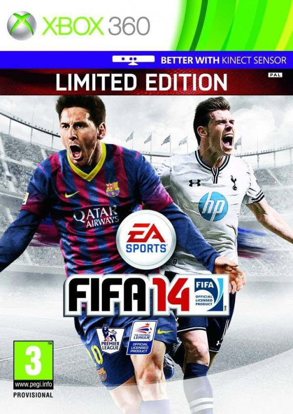 FIFA 14 adds Gareth Bale to UK cover