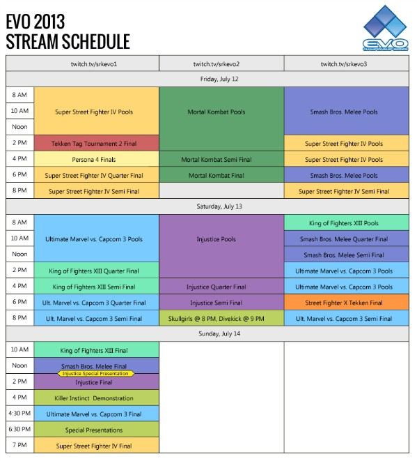 EVO 2013 to be simulcast in Japanese