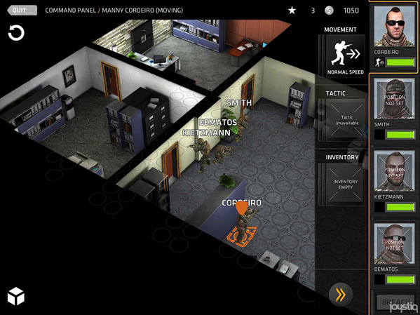 Breach & Clear offers potential on iPad, frustration on other iOS devices