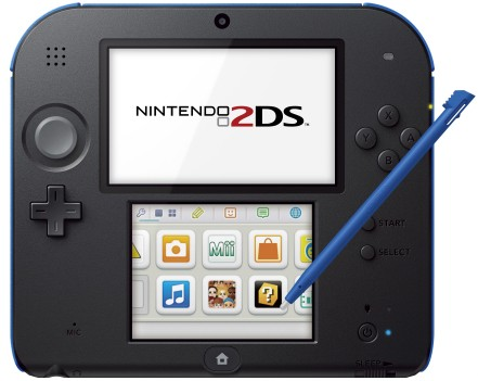 Nintendo 2DS out Oct 12 for $130, plays all 3DS, DS games
