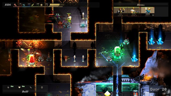 Dungeon of the Endless is roguelike, tower defense scifi and fantasy