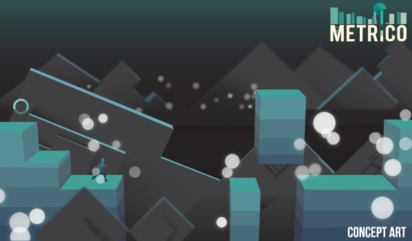 Metrico The Vita game about pie charts, bar graphs and platforming