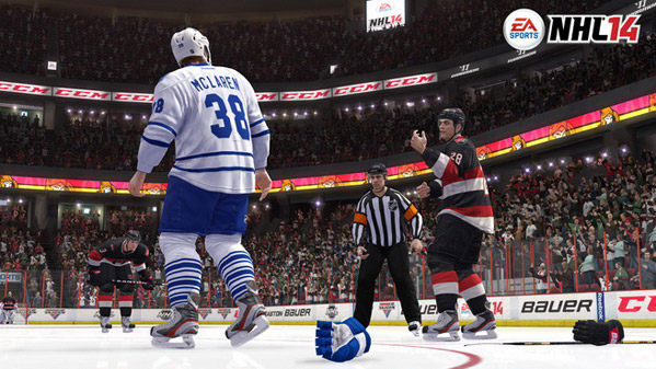 NHL 14 review Shorthanded