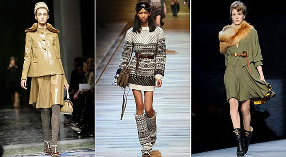 Prada D&G, Fendi milan fashion week