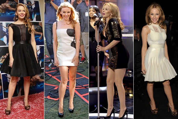 Kylie Minogue wears David Koma