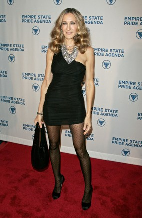 Sarah Jessica Parker Flaunts Her Legs On The Red Carpet