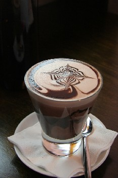 Hot chocolate may ease a persistent cough