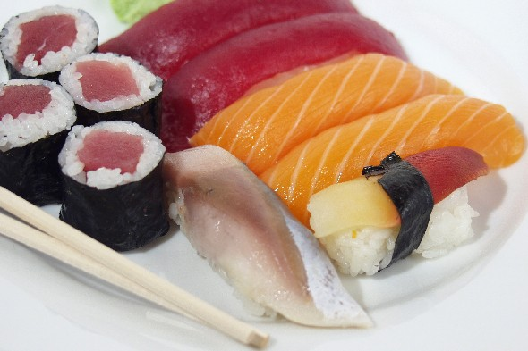 Save money on sushi this month