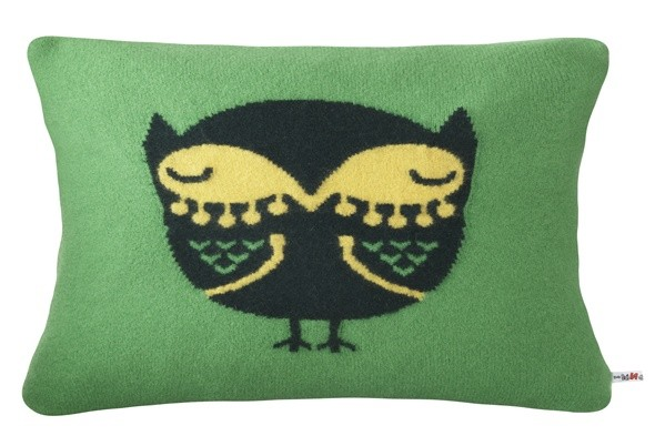 Owl pillow cushion