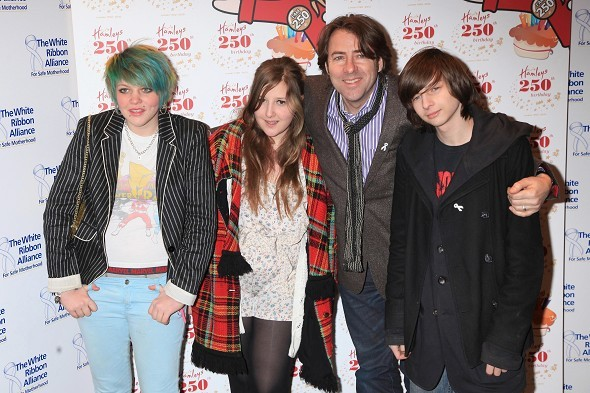 Jonathan Ross and family