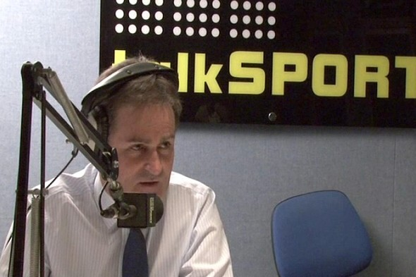 Richard Keys speaking on talkSport