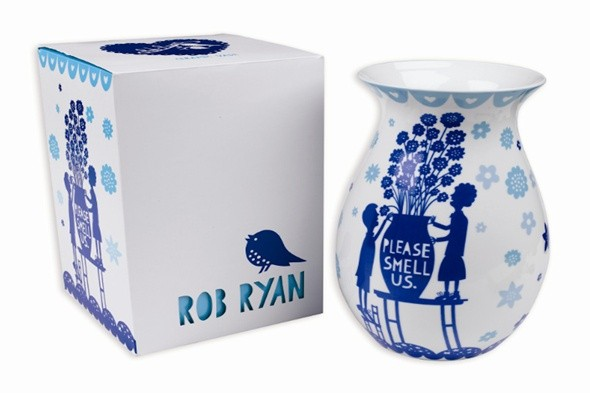 boutique of the week; the gifted penguin; ceramics; vases; rob ryan; homewares
