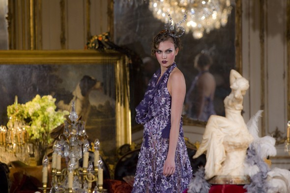 John Galliano presentation