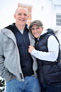 Mike Tindall, Zara Phillips