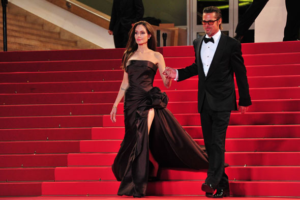 Brad Pitt and Angelina Jolie at Cannes Film Festival