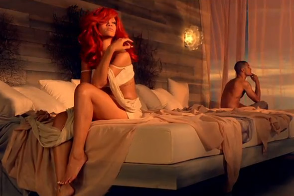 Rihanna new video California King Bed