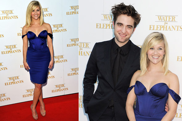 Robert Pattinson and Reese Witherspoon hit Westfield London for the UK premiere of Water for Elephants