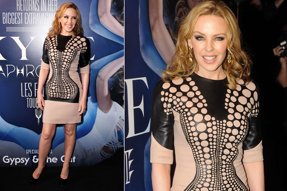 Kylie Minogue at the Warner Music Australia party in Sydney