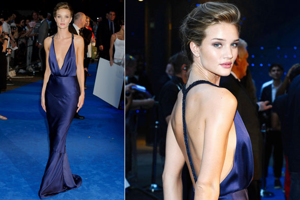 Rosie Huntington-Whiteley at the London premiere of Transformers: Dark of the moon