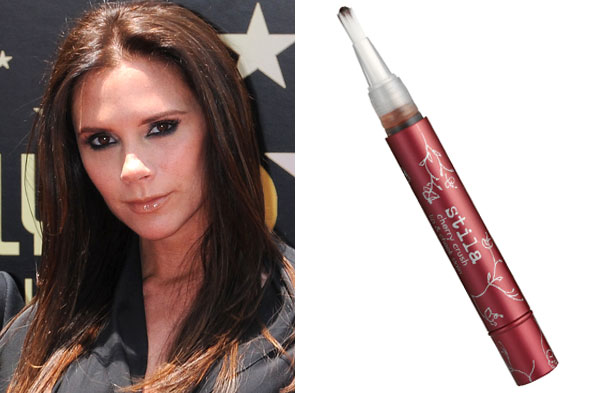 Victoria Beckham tweets about her summer beauty obsession from Stila Cosmetics