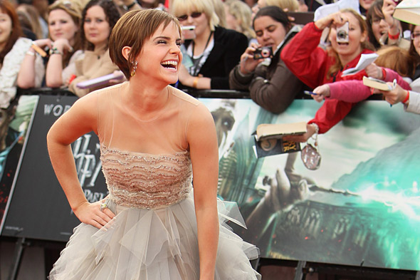 Emma Watson at the Harry Potter and the Deathly Hallows world premiere