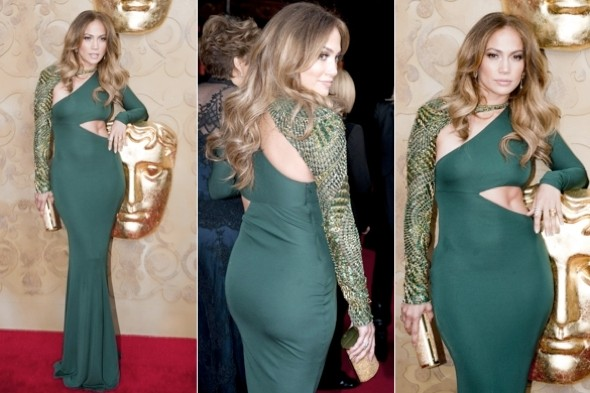 jennifer-lopez-emerald-cutout-dress-bafta-brits-to-watch-party-LA