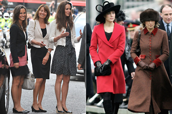 Does Carole Middleton copy daughters' Kate and Pippa's style?