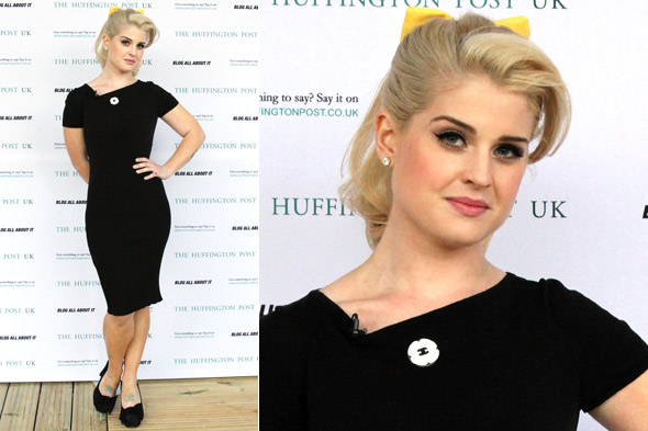Kelly Osbourne at the launch party for Huffington Post UK