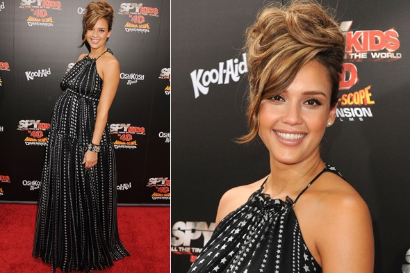 Jessica Alba at the premiere of Spy Kids: All the Time in the World 4D in New York