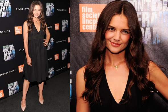 Katie Holmes in Holmes and Yang at the Don't Be Afraid of the Dark premiere