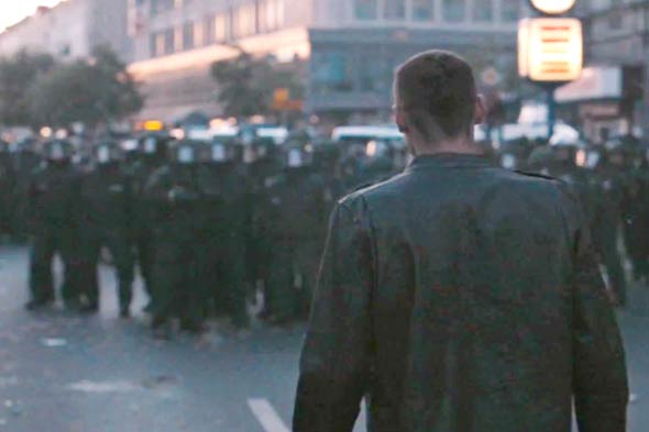 Levi's postpone distribution of new advert which contains scenes of rioting