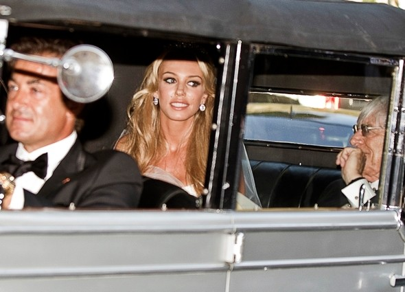 Fergie, Beatrice and Eugenie wow at Petra Ecclestone's glamorous wedding