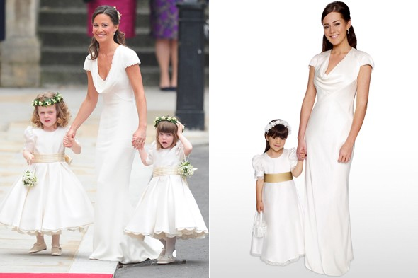 Spot The Difference Debenhams Have Released A Royal Replica Of Pippa S Bridesmaid Dress Photos