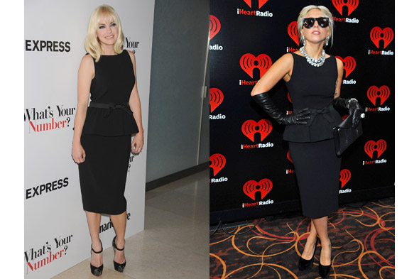 Fashion face-off: Anna Faris takes on Lady Gaga's style